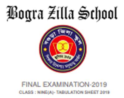 BZS Tabulatio Sheet